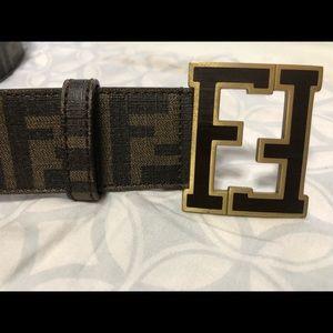 Men's Fendi belt.